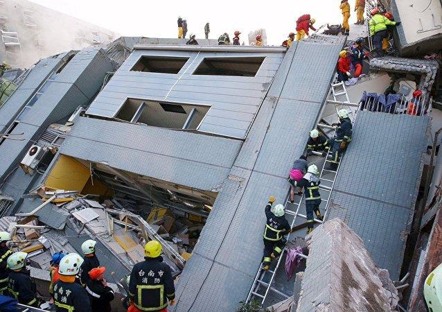 俄紧急情况部:俄远东未感觉到台湾地震