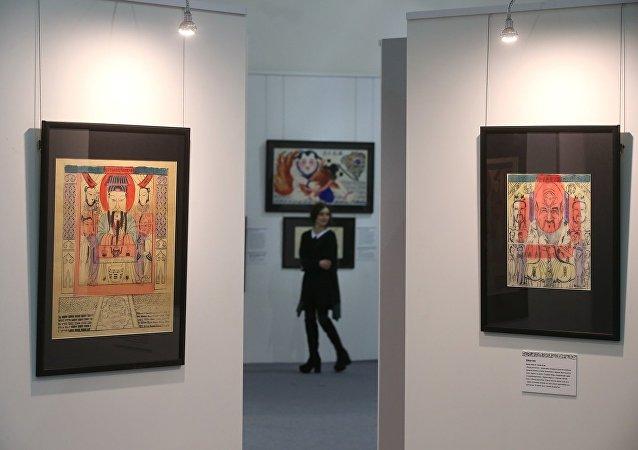中国年画展在莫斯科开幕