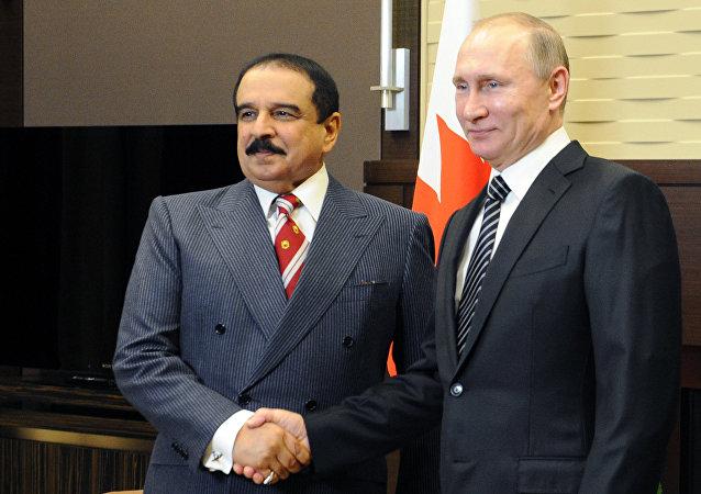 俄罗斯与巴林签署军事技术和天然气领域的合作协议