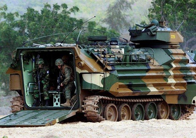 """包括运送人道主义物资在内的""""金色眼镜蛇""""联合行动在泰国开始"""