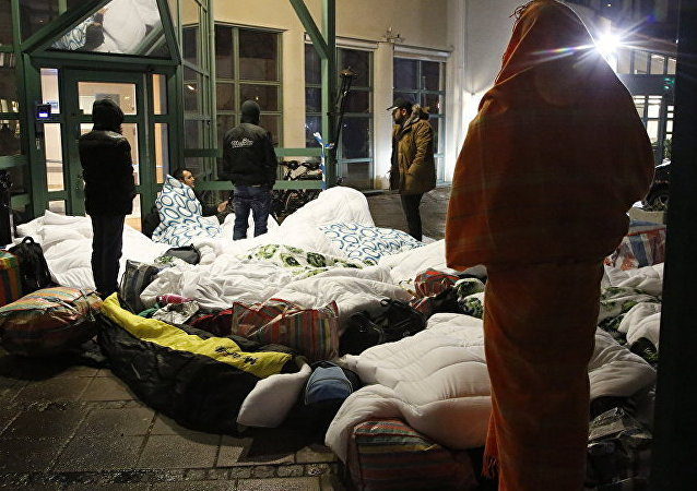 难民在欧洲