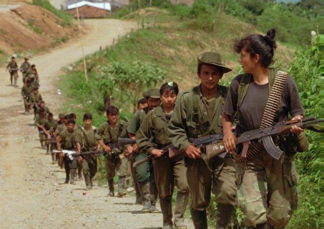 哥伦比亚叛军拒绝号召儿童士兵入伍