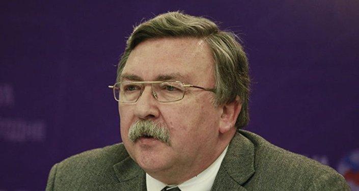 俄外交部武器不扩散和监督司司长米哈伊尔•乌里扬诺夫
