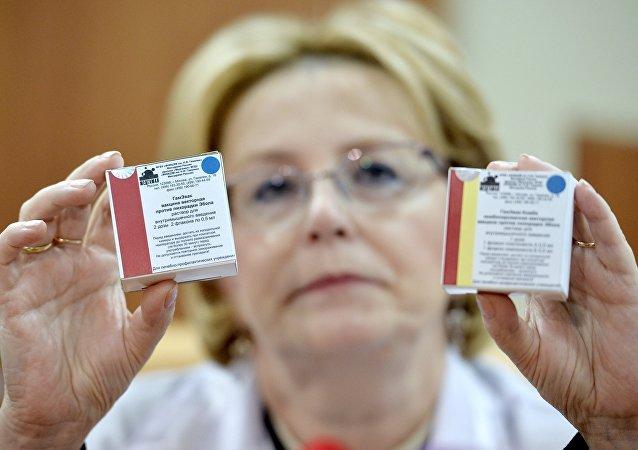 俄卫生部:抗埃博拉疫苗上周在俄获得专利