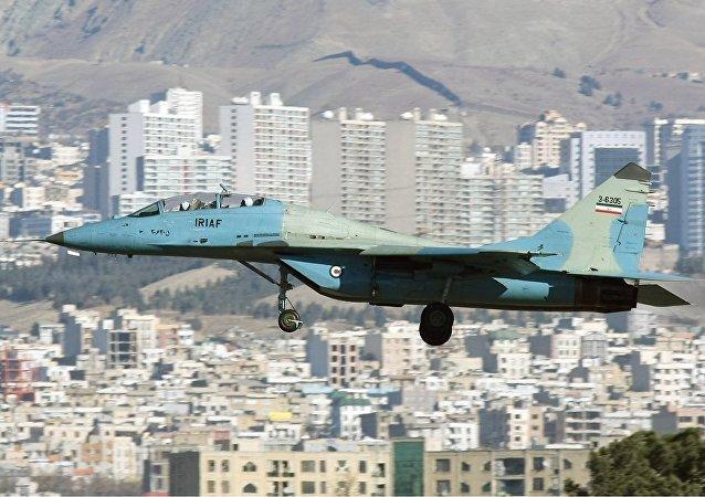 伊朗空军的米格-29UB