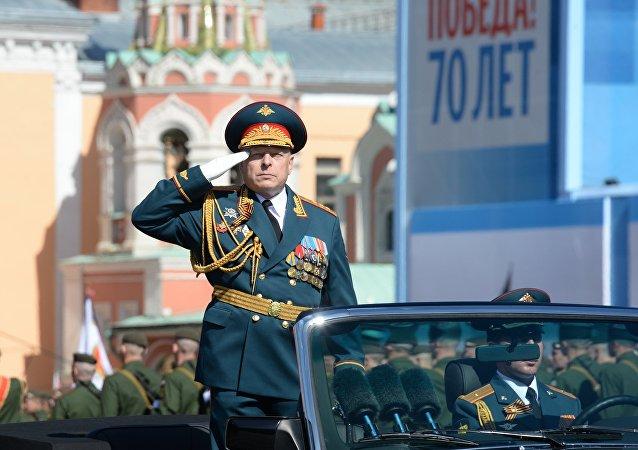 俄陆军总司令奥列格∙萨柳科夫上将