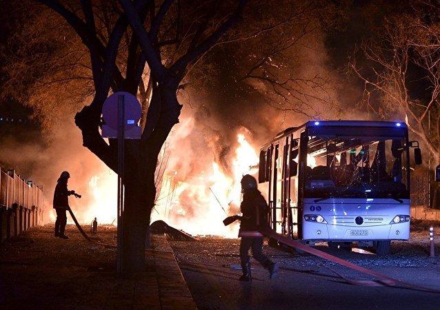 安卡拉市爆炸