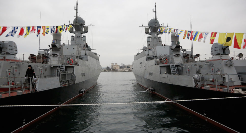 """俄""""谢尔普霍夫""""号导弹舰"""
