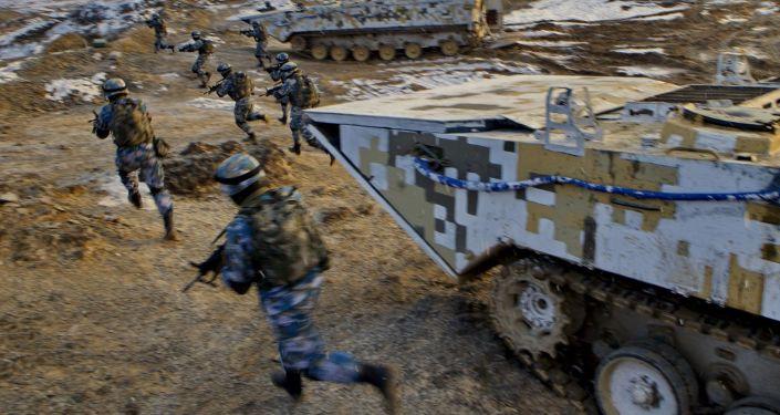 中国和尼泊尔开始史上首次联合军事演习