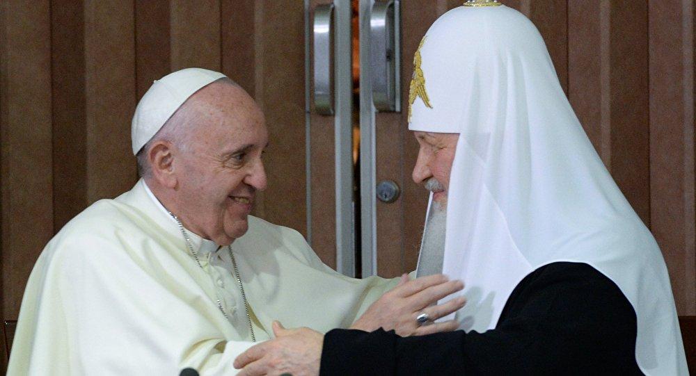 俄大牧首希望与罗马教皇的会晤将缓解俄与北约紧张关系