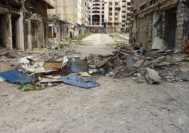 消息:7人在叙利亚霍姆斯恐怖爆炸中死亡,17人受伤