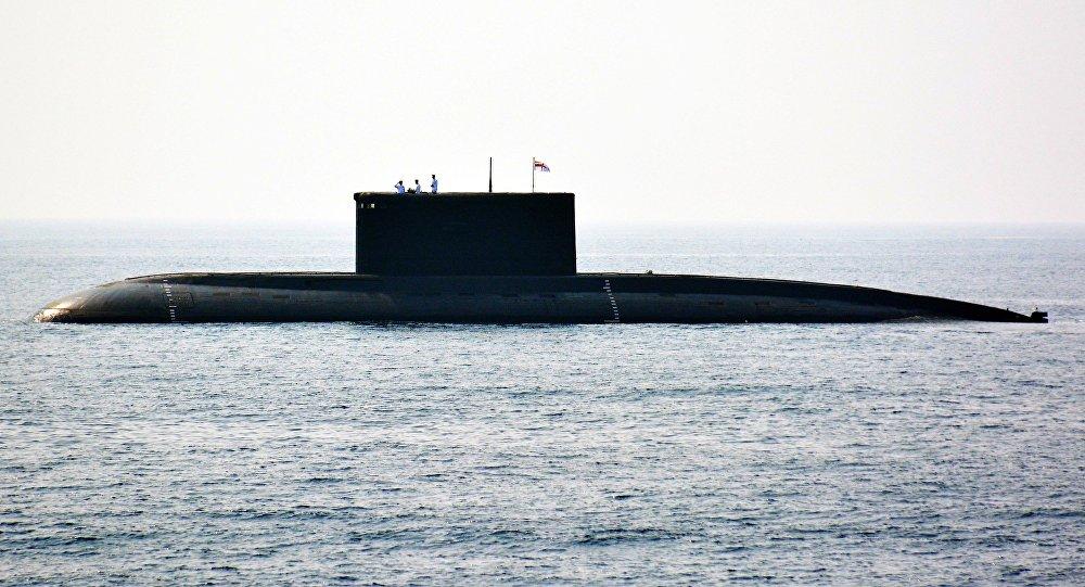 """报纸:印度""""歼敌者""""号核潜艇"""