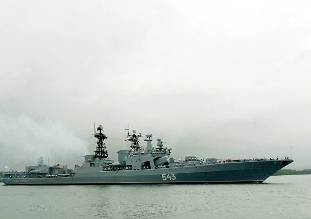 """""""沙波什尼科夫元帅""""号大型反潜舰"""