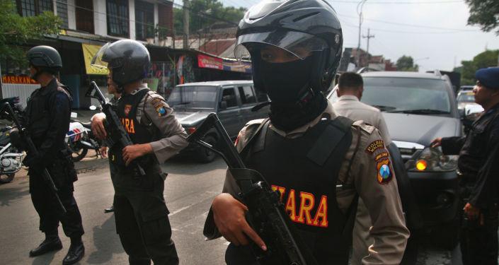 印尼2.2万名警察将在12月2日抗议活动中保障首都安全