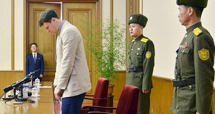 朝鲜法院判处美国大学生15年监禁