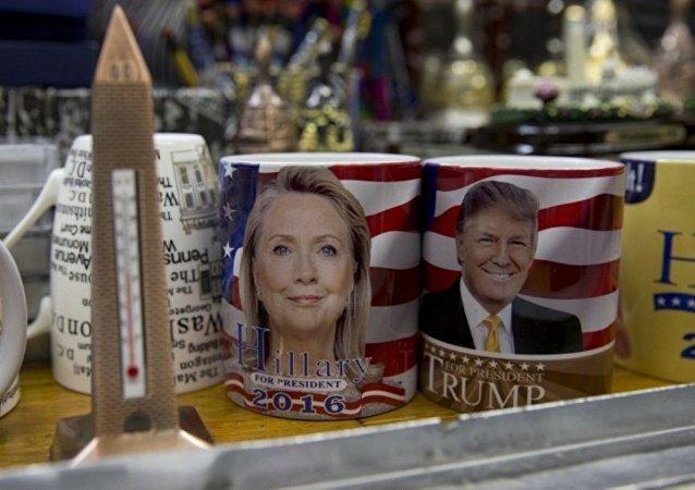 """美国各党候选人""""超级星期二""""前夕进行冲刺宣传"""