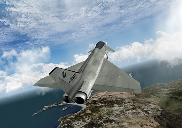 NASA联手洛克希德•马丁公司研制X-Plane超声速飞机