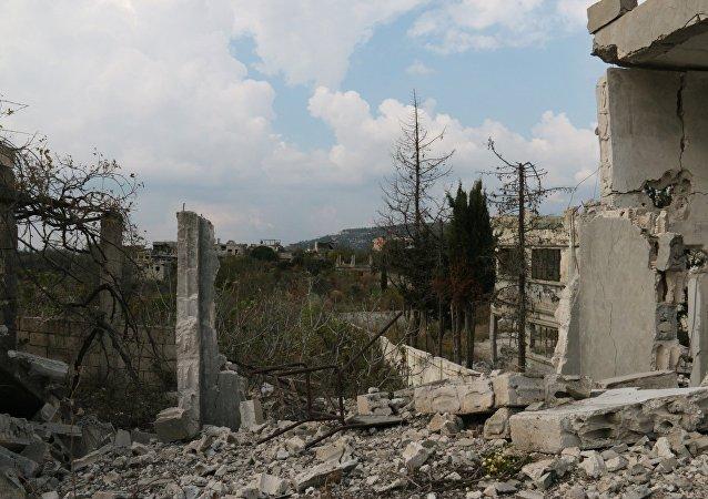视频:叙军导弹迫使恐怖分子从拉塔基亚逃往伊德利卜