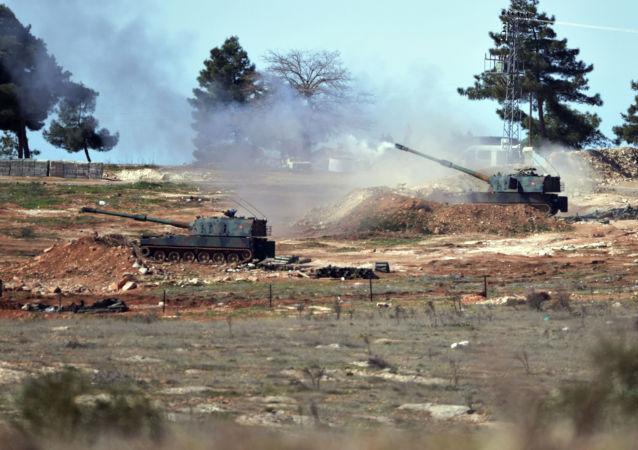 媒体:土耳其军队在叙贾拉布鲁斯以南消灭一队库尔德自卫军