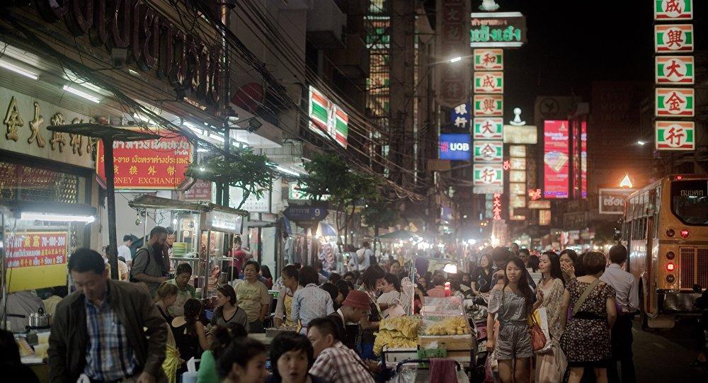 4名蒙古族人试图抢劫曼谷唐人街的武器店