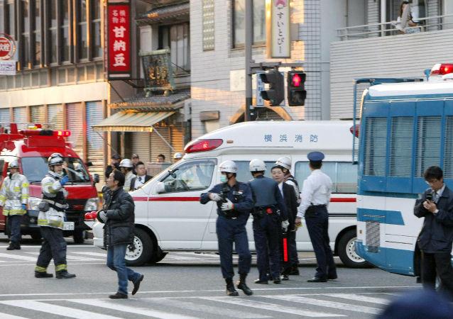 日本和歌山县枪击事件致4人受伤