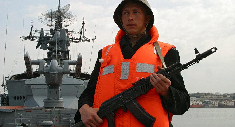 黑海艦隊敏捷號護衛艦出發前往地中海