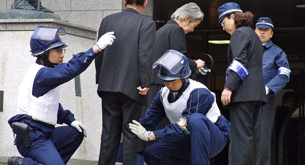 """日警方搜查黑帮团伙""""神户山口组""""总部"""