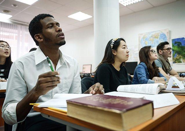 留学生在人民大学