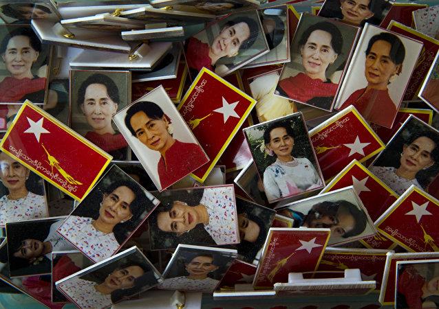 缅甸民盟推举昂山素季亲信参选总统