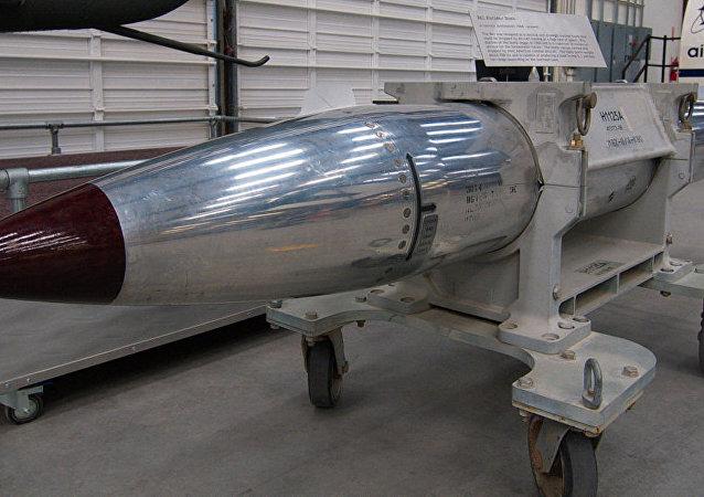 美国空军证实已试验B61-12核弹