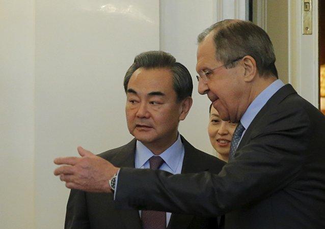 王毅与拉夫罗夫