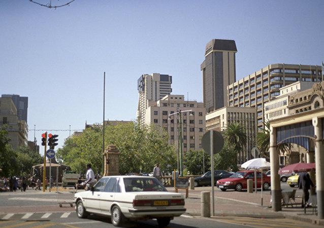 南非的约翰内斯堡