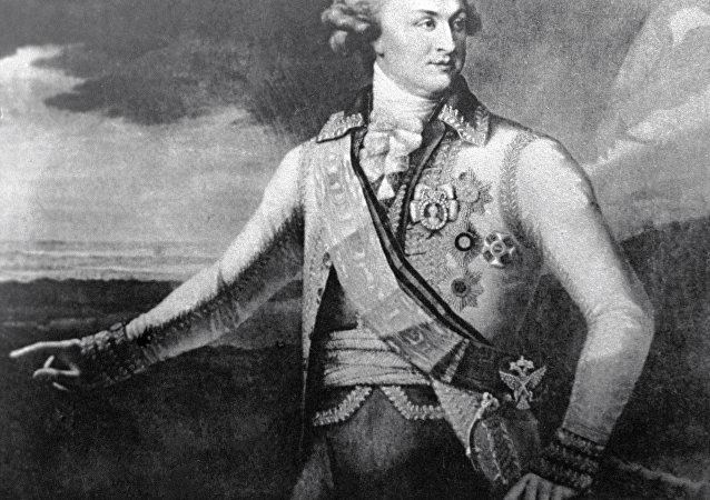 叶卡捷琳娜二世女皇的支持者、格里高利·波将金大公