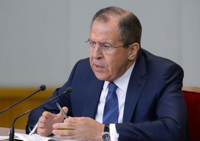 拉夫罗夫:俄罗斯呼吁恢复朝鲜问题六方会谈