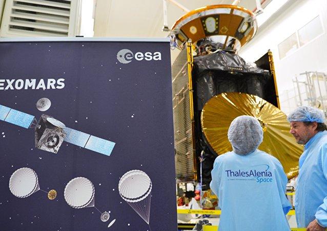 ExoMars将于10月19日抵达火星轨道开始研究