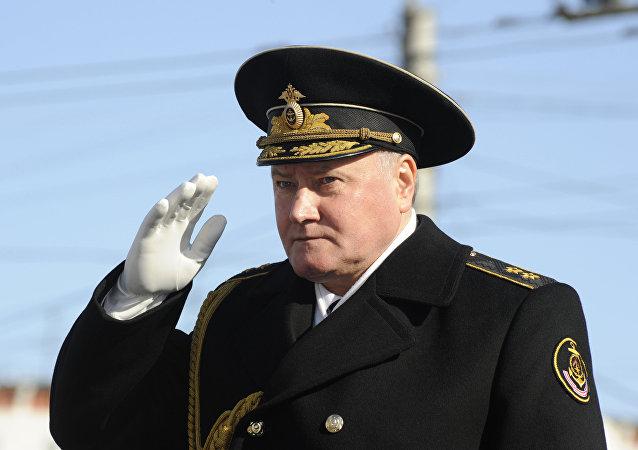 消息人士:俄北方舰队司令将出任俄海军总司令