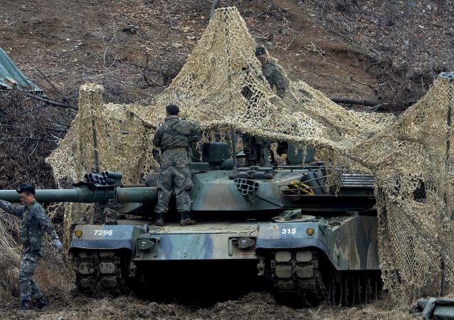 韩国2017年国防预算增加至365亿美元 同比增长4%