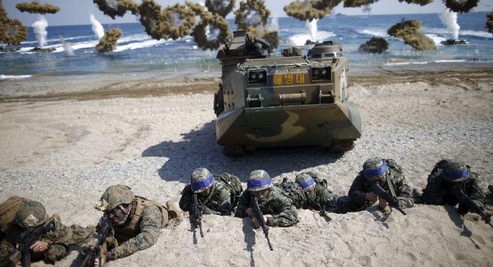 媒体:韩美未讨论恢复联演问题