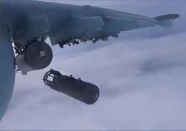 俄外长:俄空天军在叙实施打击以防恐怖分子逃入该国