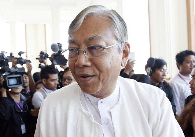 缅甸总统吴廷觉