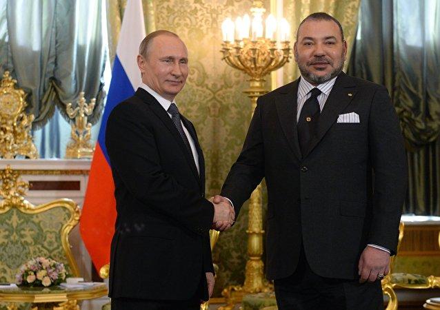 俄罗斯和摩洛哥表示将加强液化天然气在内的能源合作