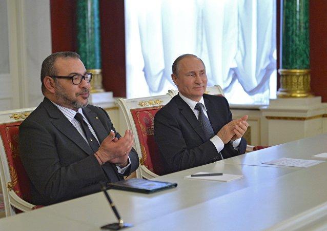 俄罗斯和摩洛哥表示支持叙利亚领土完整