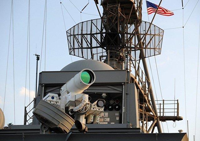 俄专家:激光武器或将改变军事行动的形态