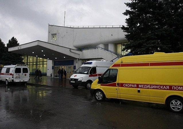 一架波音飞机在顿河畔罗斯托夫坠毁 机上载有62人