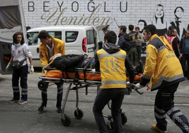 多个国家公民在伊斯坦布尔恐袭中受伤