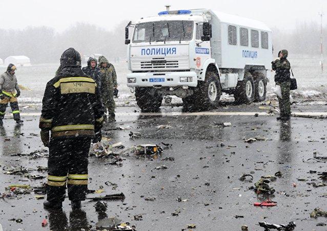 国家间航空委员会:罗斯托夫失事客机黑匣子解码工作将于3月21日开始