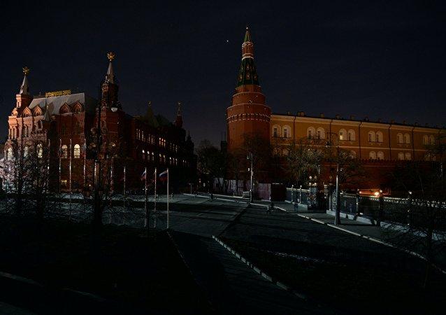 """俄百余城市支持""""地球一小时""""活动"""