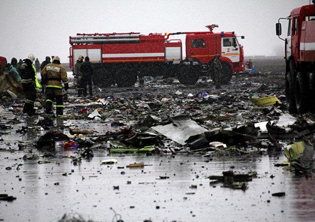 国家间航空委员会:罗斯托夫失事客机黑匣子遭到严重机械损坏