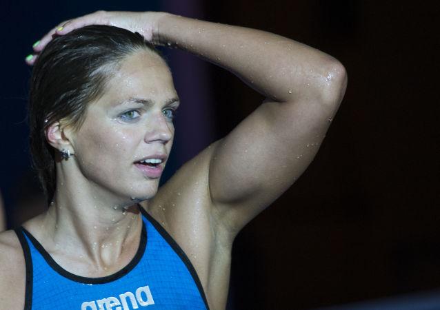 俄罗斯女子游泳选手尤利娅·叶菲莫娃