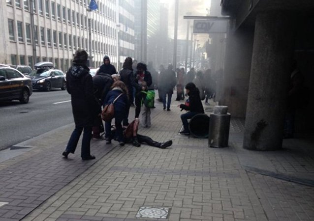 据电视台报道,布鲁塞尔马尔贝克地铁站发生爆炸